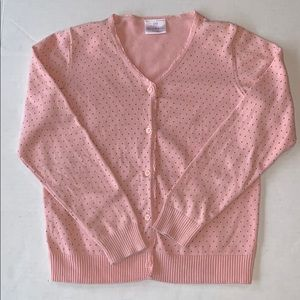 Hanna Andersson pink Cardigan